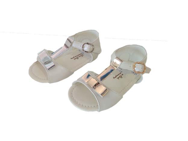 A1200S sandalias de niña con lazo oro y plata.jpg